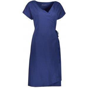 Dámské šaty ALPINE PRO SOLEIA LSKR225 MODRÁ