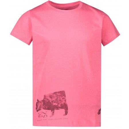 Dětské triko ALPINE PRO NEJO 2 KTSR243 RŮŽOVÁ