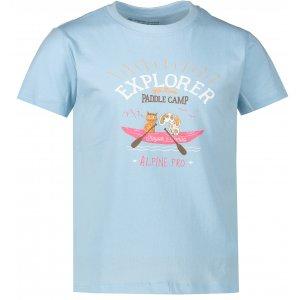 Dětské triko ALPINE PRO AXISO 3 KTSR238 SVĚTLE MODRÁ