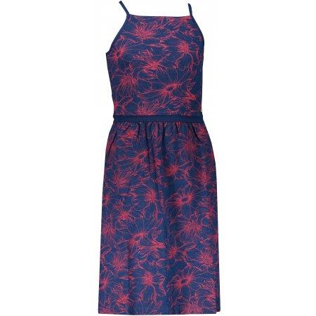 Dívčí šaty ALPINE PRO ZELDO KSKR068 TMAVĚ MODRÁ