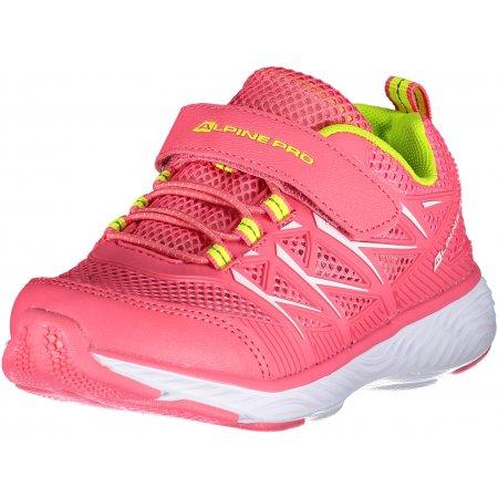 Dětské sportovní boty ALPINE PRO AVICESE KBTR219 RŮŽOVÁ