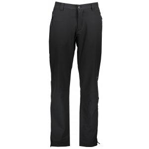 Pánské softshellové kalhoty ALPINE PRO QUILAN MPAR414 ČERNÁ