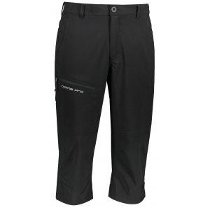 Pánské 3/4 kalhoty ALPINE PRO NANEK MPAR466 ČERNÁ