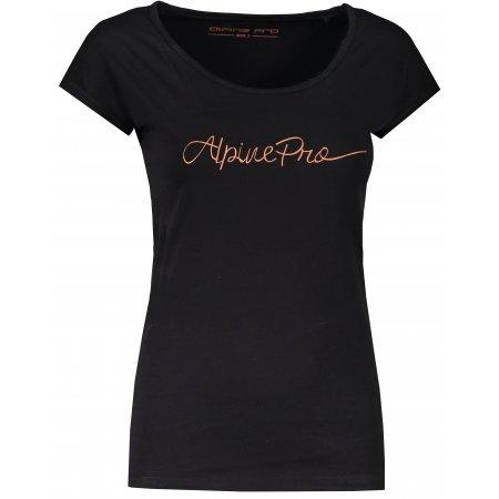 Dámské triko ALPINE PRO LAKYLA LTSR560 ČERNÁ