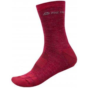 Ponožky ALPINE PRO GENTIN 2 USCR038 FIALOVÁ