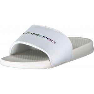 Dámské pantofle ALPINE PRO AKADA LBTR255 BÍLÁ