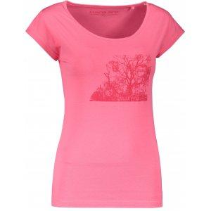 Dámské triko ALPINE PRO LAKYLA LTSR560 RŮŽOVÁ