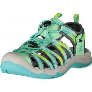 Dámské sandále ALPINE PRO LANCASTER 3 UBTR212 ZELENÁ