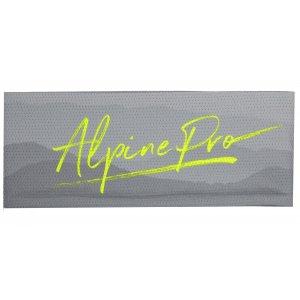 Čelenka ALPINE PRO MUSA 2 USFR070 SVÍTIVĚ ZELENÁ