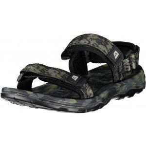 Pánské sandále ALPINE PRO CEILE UBTR211 ZELENÁ