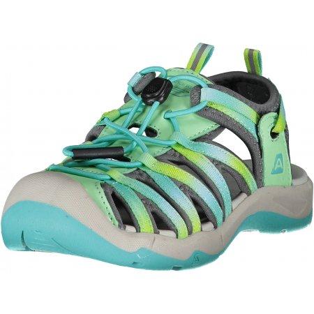 Dětské sandále ALPINE PRO LANCASTERO 2 KBTR221 ZELENÁ