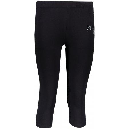 Dámské 3/4 kalhoty ALPINE PRO KLAKA LPAR443 ČERNÁ