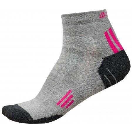 Ponožky ALPINE PRO AXION 3 USCR052 RŮŽOVÁ