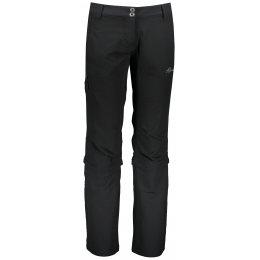 Dámské softshellové kalhoty ALPINE PRO LOMA LPAR442 ČERNÁ