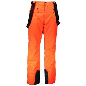Pánské lyžařské kalhoty ALPINE PRO SANGO 6 MPAM312 ORANŽOVÁ