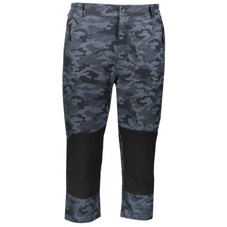 Pánské 3/4 kalhoty ALPINE PRO KADEK MPAR344 ŠEDÁ