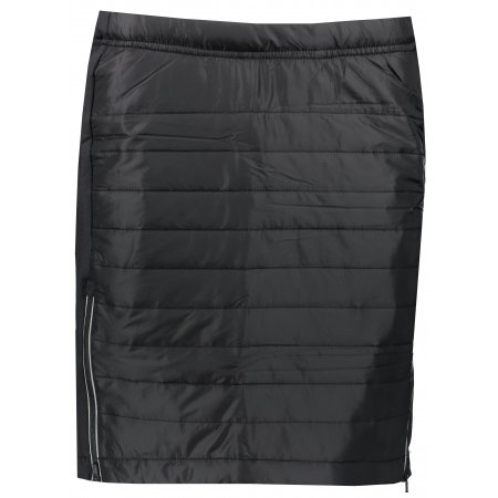 Dámská zateplená sukně ALPINE PRO NILA LSKS260 ČERNÁ