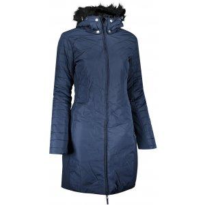 Dámský kabát ALPINE PRO KRESA LCTS139 TMAVĚ MODRÁ