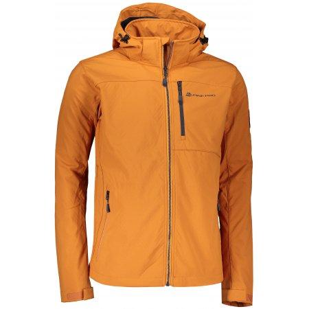 Pánská softshellová bunda ALPINE PRO NOOTK 7 MJCS436 ŽLUTÁ