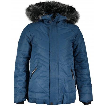 Dětská zimní bunda ALPINE PRO ICYBO 4 KJCS180 MODRÁ