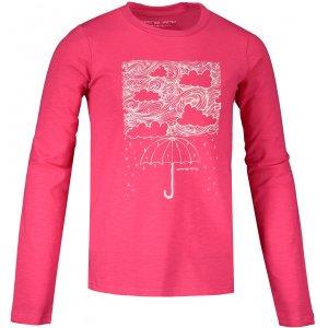 Dětské triko s dlouhým rukávem ALPINE PRO KEJRO KTSS322 RŮŽOVÁ
