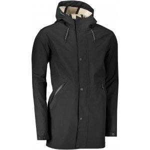 Pánský kabát ALPINE PRO NADIJ MJCS427 ČERNÁ