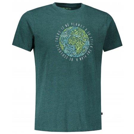 Pánské triko s krátkým rukávem ALPINE PRO SKULD MTSS520 ZELENÁ