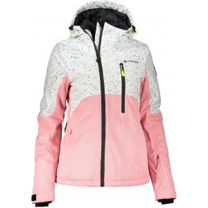 Dámská lyžařská bunda ALPINE PRO MAKERA 2 LJCS424 RŮŽOVÁ