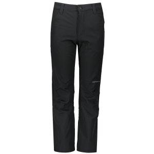 Dětské softshellové kalhoty ALPINE PRO MERKO KPAS219 ČERNÁ