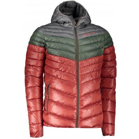 Pánská bunda ALPINE PRO MERV MJCS431 ČERVENÁ