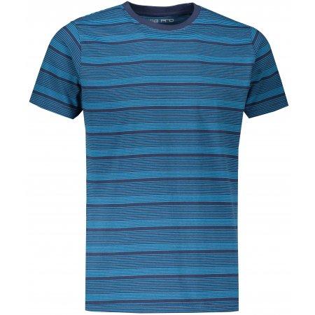 Pánské triko ALPINE PRO RATIZ MTSS557 TMAVĚ MODRÁ