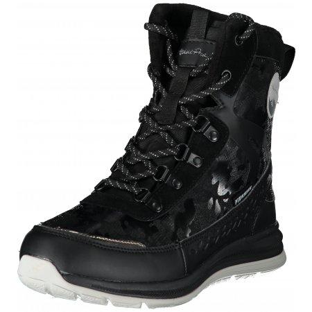 Dámské zimní boty ALPINE PRO LUNEDA LBTS280 ČERNÁ