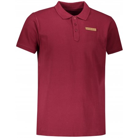 Pánské triko ALPINE PRO ERCIL MTSS559 VÍNOVÁ