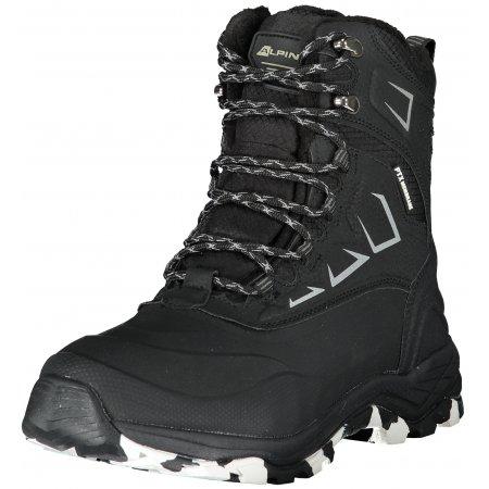 Pánské zimní boty ALPINE PRO CULH MBTS225 ČERNÁ
