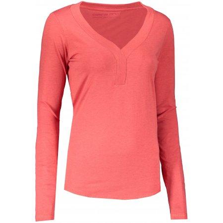 Dámské triko ALPINE PRO CLAUDA LTSS685 RŮŽOVÁ