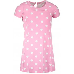 Dívčí šaty ALPINE PRO ZIADO KSKT090 RŮŽOVÁ