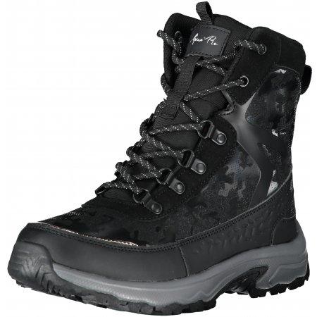 Dámské zimní boty ALPINE PRO LALMA LBTS283 ČERNÁ