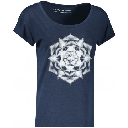 Dámské triko ALPINE PRO CLETA LTSS686 TMAVĚ MODRÁ