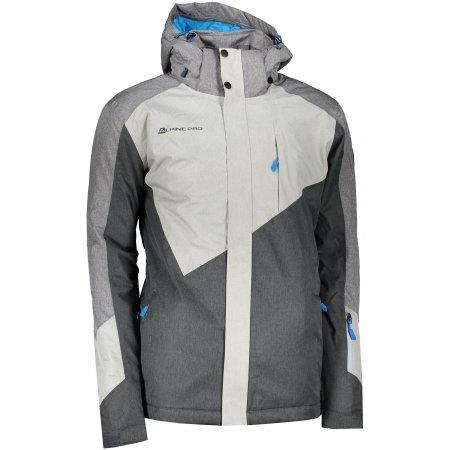 Pánská lyžařská bunda ALPINE PRO SARDAR 4 MJCS450 ŠEDÁ
