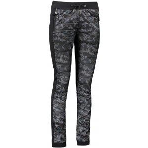Dámské zateplené kalhoty ALPINE PRO BUEVA LPAS454 ČERNÁ