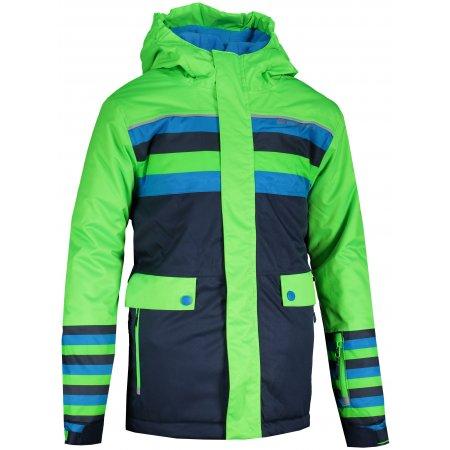 Dětská zimní bunda ALPINE PRO INTKO 2 KJCS202 ZELENÁ