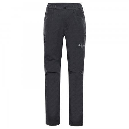 Pánské softshellové kalhoty ALPINE PRO TIMER MPAS463 ČERNÁ
