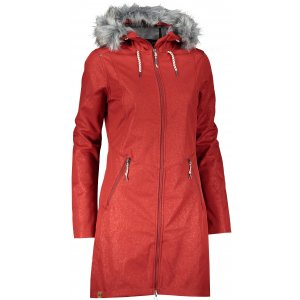 Dámský softshellový kabát ALPINE PRO PRISCILLA 4 INS. LCTS100 ČERVENÁ