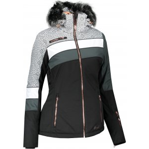 Dámská zimní bunda ALPINE PRO DORA 7 LJCS423 ČERNÁ