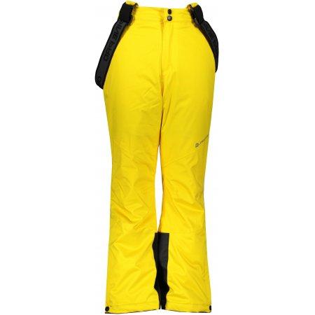 Dětské lyžařské kalhoty ALPINE PRO ANIKO 4 KPAS203 ŽLUTÁ