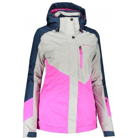 Dámská lyžařská bunda ALPINE PRO SARDARA 4 LJCS425 RŮŽOVÁ