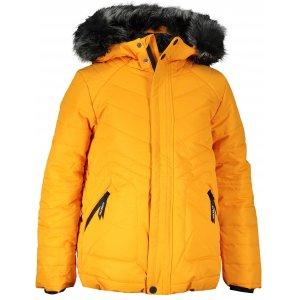 Dětská zimní bunda ALPINE PRO ICYBO 4 KJCS180 ŽLUTÁ