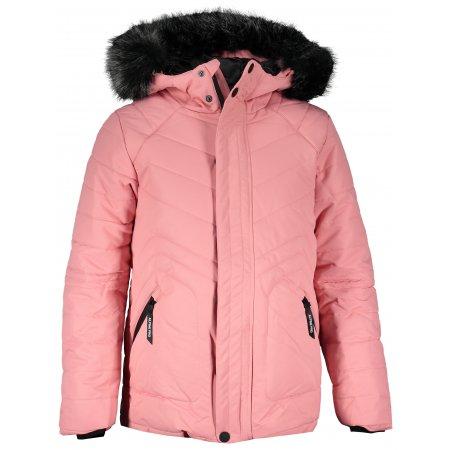 Dětská zimní bunda ALPINE PRO ICYBO 4 KJCS180 RŮŽOVÁ