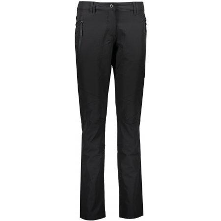 Dámské softshellové kalhoty ALPINE PRO WEFRA LPAS481 ČERNÁ
