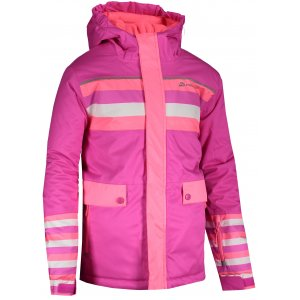 Dětská zimní bunda ALPINE PRO INTKO 2 KJCS202 RŮŽOVÁ